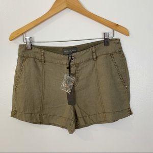 Michael Stars WNB98 linen shorts